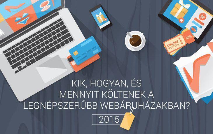 Kik, hogyan és mennyit költenek a legnépszerűbb webáruházakban?