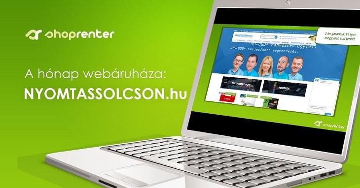 2017. Augusztus Hónap Webáruháza: NyomtassOlcson.hu
