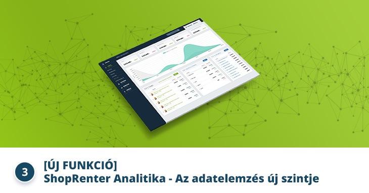 [ÚJ FUNKCIÓ] ShopRenter Analitika - Az adatelemzés új szintje