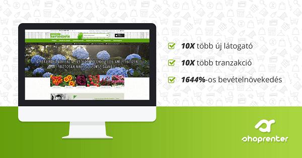 [ESETTANULMÁNY] - 1644%-os bevételnövekedés organikus forgalomból
