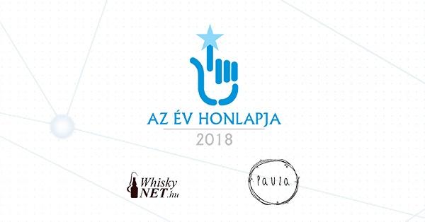 Sikerek a 2018-as Év Honlapja versenyen