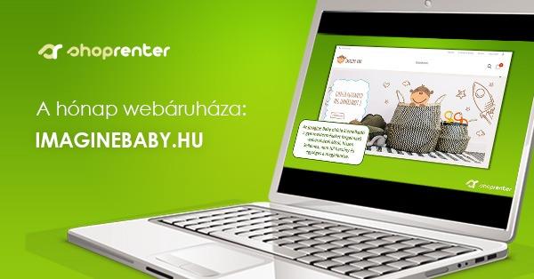 2018. Október Hónap Webáruháza: ImagineBaby.hu