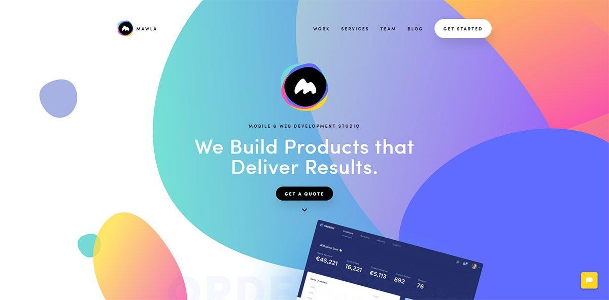 Webdesign: Organikus formák