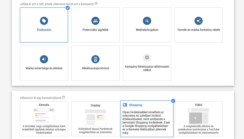 Google Shopping beállítása ShopRenterben