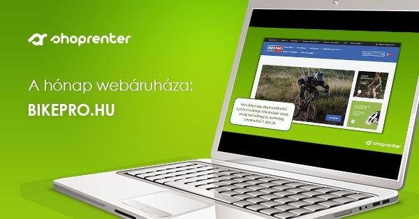 2020. Február Hónap Webáruháza: BikePro.hu