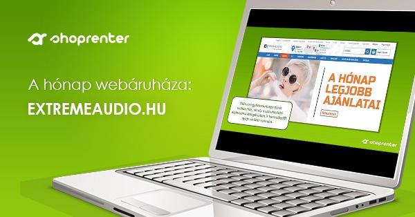 2020. Március Hónap Webáruháza: Extremeaudio.hu