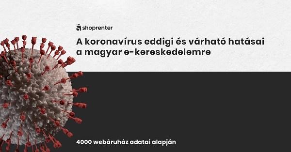 A koronavírus eddigi és várható hatásai a magyar e-kereskedelemre (4000 webáruház adatai alapján)