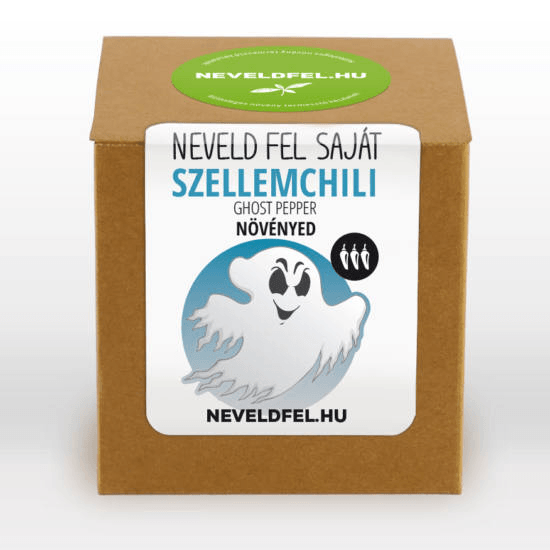 Egyedi címkével ellátott designos csomagolás a Neveldfel.hu-tól