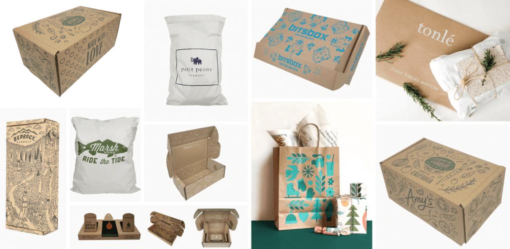 Egyedi csomagolások