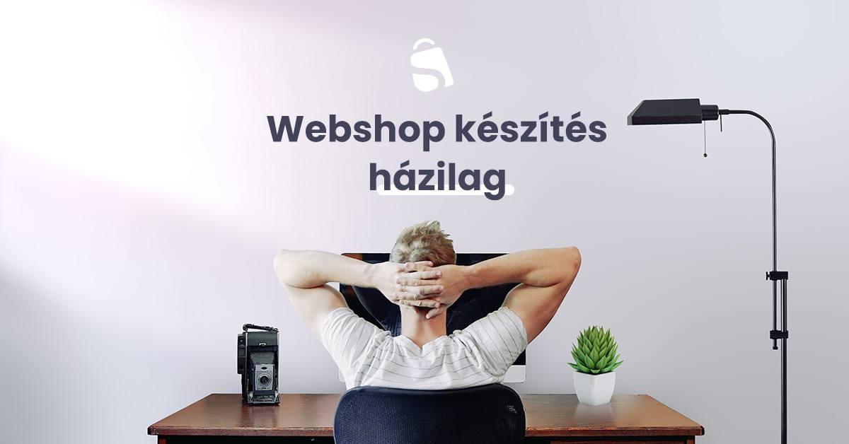 Webshop készítés házilag, saját webshop létrehozása
