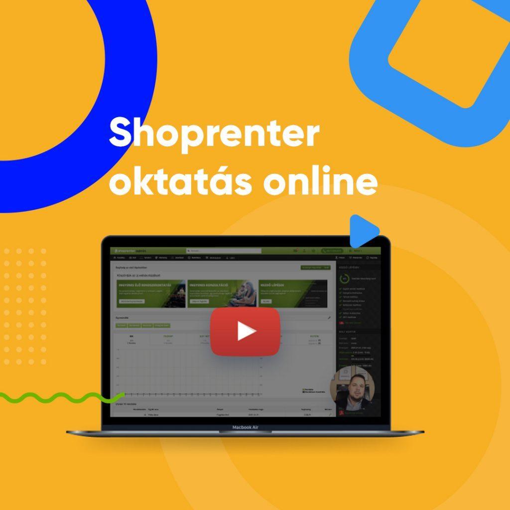 Shoprenter ingyenes rendszeroktatás