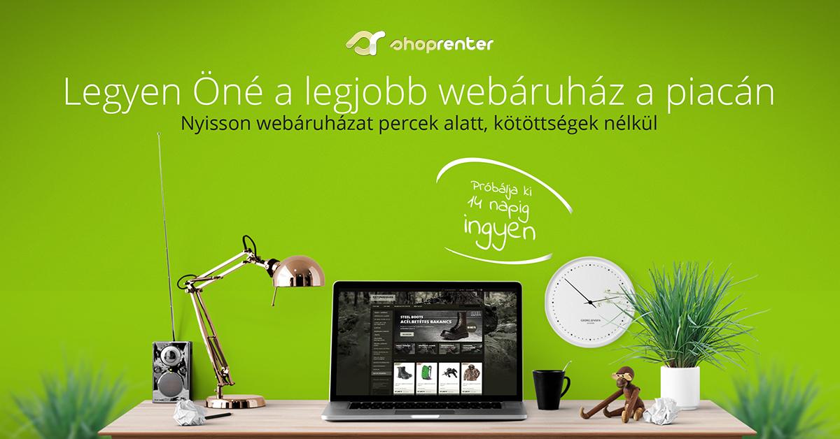 Webáruház bérlés - ShopRenter d3633d683e