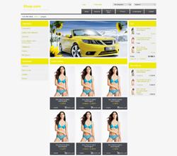 Webáruház sablon - Clean citrom2
