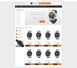 Webáruház sablon - Elegant 2.0 Sabloncsalád orange