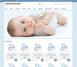 Webáruház sablon - Kaméleon Sabloncsalád baby