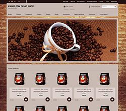 Webáruház sablon - Kaméleon coffee