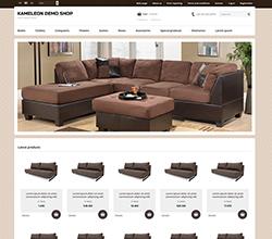 Webáruház sablon - Kaméleon furniture