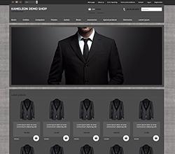Webáruház sablon - Kaméleon suits