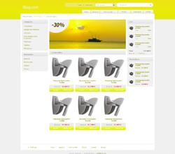 Webáruház sablon - Light citrom