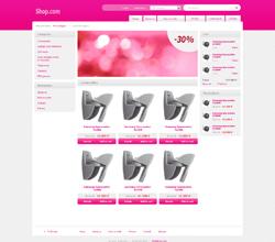 Webáruház sablon - Light pink