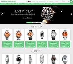 Webáruház sablon - London green