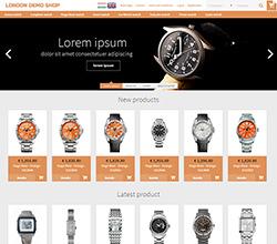 Webáruház sablon - London orange
