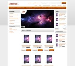 Webáruház sablon - Modern 2.0 orange