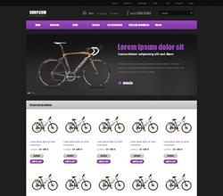 Webáruház sablon - Pandora violet