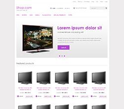 Webáruház sablon - Philadelphia violet