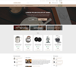 Webáruház sablon - Róma cappuccino