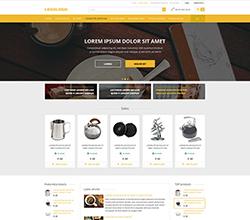 Webáruház sablon - Róma gold