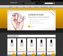 Webáruház sablon - Royal lemon