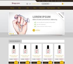 Webáruház sablon - Royal yellow