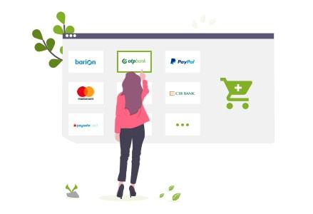 Webáruház bérlés online fizetési lehetőségekkel