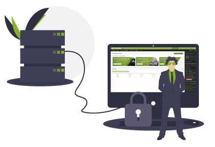 Webáruház bérlés - Megbízható, gyors szerverek