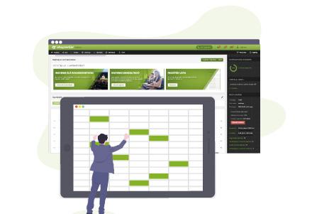 Webáruház bérlés - Tömeges termékfrissítés