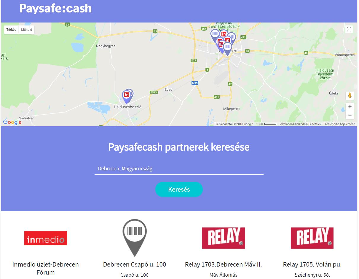 Paysafecash partnerek keresése
