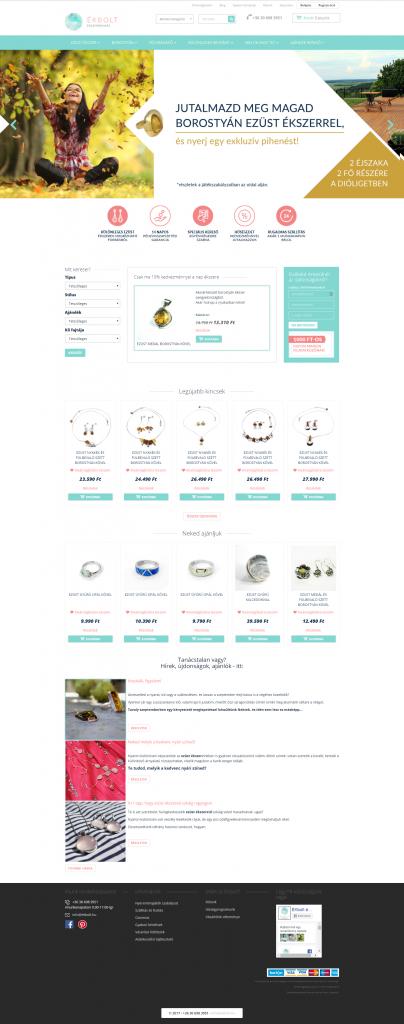 Példa felhasználóbarát webáruház kialakításra