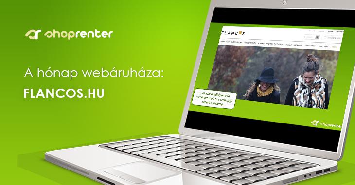 2017. December Hónap Webáruháza: Flancos.hu