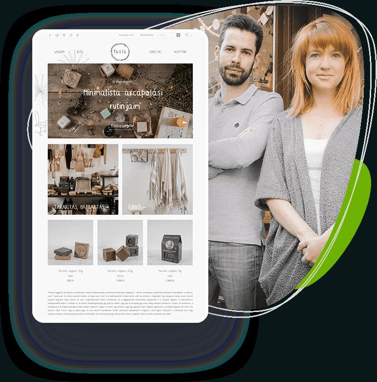 Webáruház bérlés & webáruház készítés