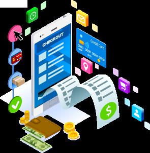 Mobilbarát pénztárfelület